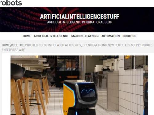外媒盛赞中国机器人产业,称中国企业开启配送机器人新纪元