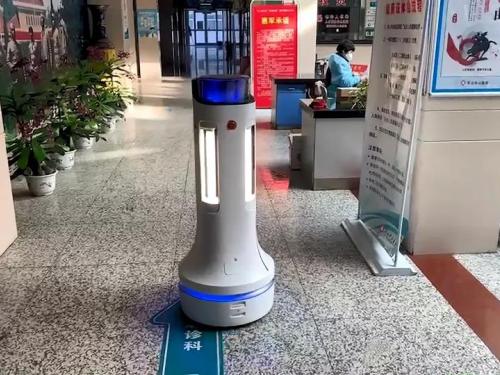 科技解放人力,普渡消毒机器人高效助力疫情防控