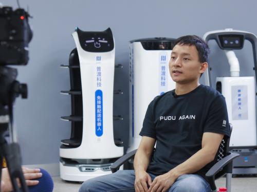 凤凰卫视专访普渡科技