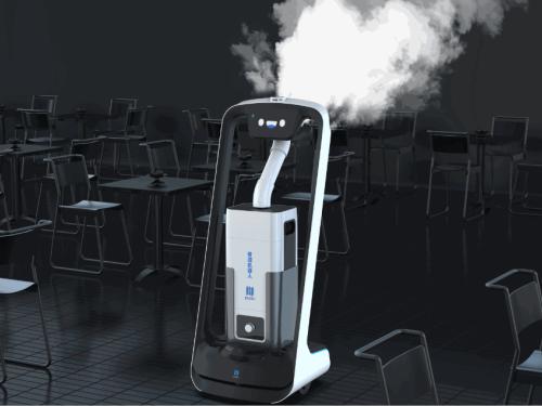 普渡科技建立餐饮智能防护链