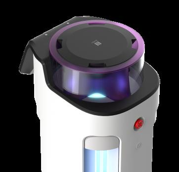 普渡科技发布消毒机器人欢乐消2,助力公共环境卫生