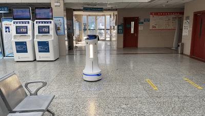 智慧防疫,普渡送餐|消毒机器人为疫情防控保驾护航