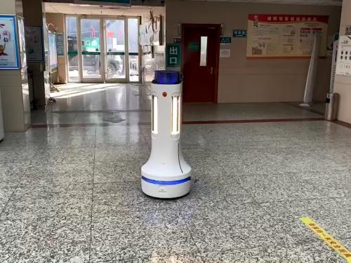 机器人抗疫,普渡科技驰援河北石家庄!