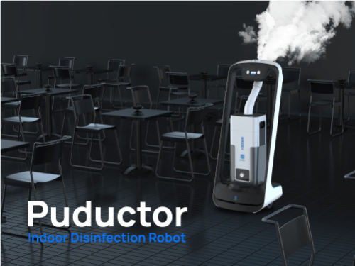 Puductor- Indoor Disinfection Robot
