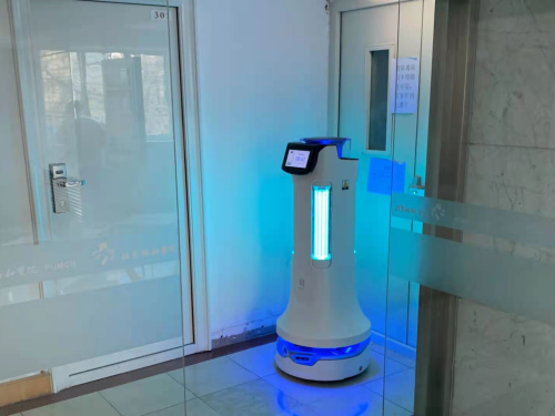 上岗北京协和医院,普渡消毒机器人大有可为!