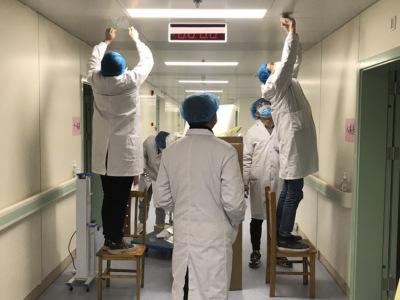 技术抗疫,欢乐送机器人进驻湖北省赤壁市人民医院