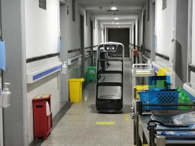 欢乐送入驻重庆市重钢总医院,助力技术抗疫!