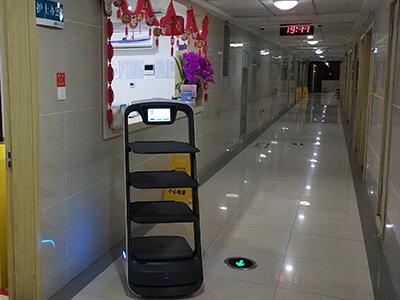 温州市第六人民医院,普渡机器人来了!