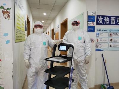 欢乐送机器人进驻上海交大附属新华医院,赋能免接触配送服务