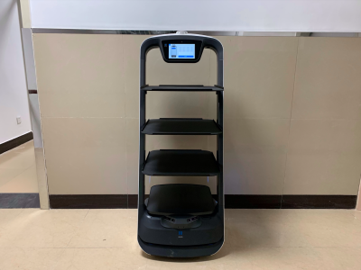 唐山市第八人民医院,普渡机器人正式报到!