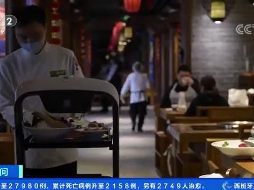 餐饮机器人或将弯道超车