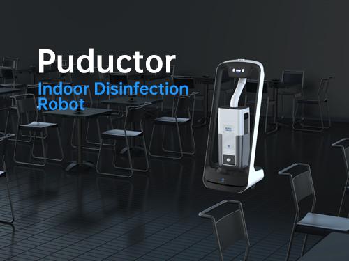Puductor - Robot de désinfection d'intérieur