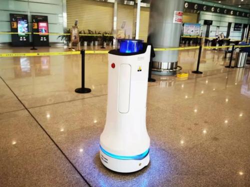 """消毒机器人机场应用再落地!""""欢乐消2""""入驻赣州黄金机场"""