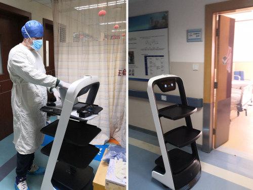 浙江超10家医疗单位使用配送机器人