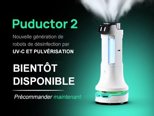 Pudu Robotics annonce la sortie d'un nouveau produit pour améliorer la sécurité de la santé publique, Puductor2